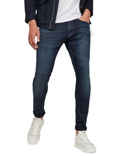 Men's 3301 Deconstructed Skinny Jeans