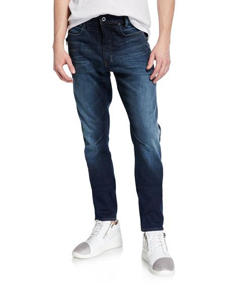 G-Star Men's D-Staq Elto Zip Slim Jeans