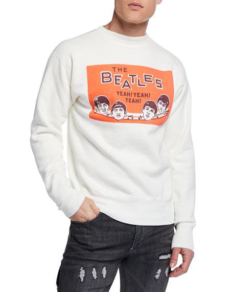 HUMAN MADE Men's Beatles Graphic Sweatshirt
