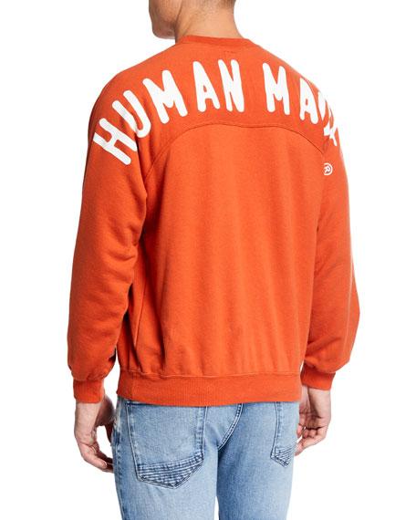 HUMAN MADE Men's Typographic Raglan Sweatshirt