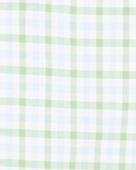 Eton Men's Slim-Fit Two-Tone Check Dress Shirt