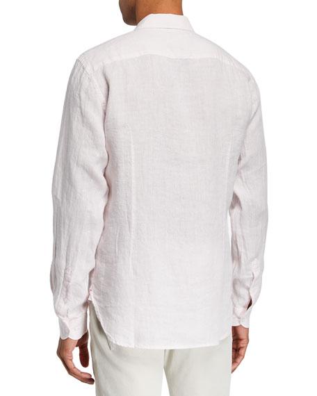 Orlebar Brown Men's Giles Linen Sport Shirt