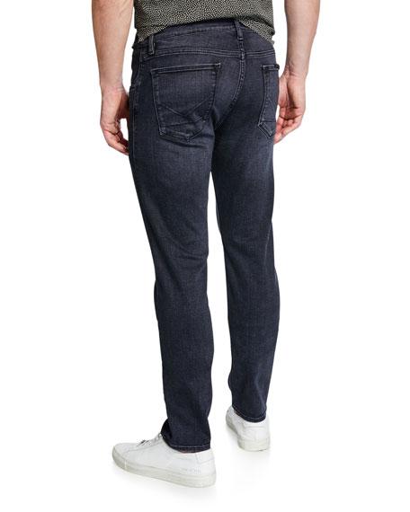 Hudson Men's Black Slim-Straight Jeans