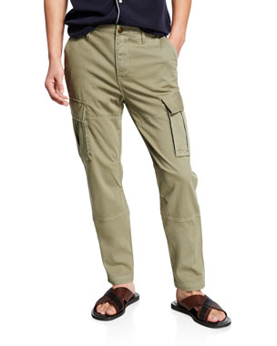 5936ba45 Hudson Men's Skinny Twill Cargo Pants