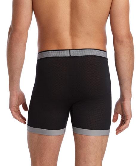 2Xist Men's Textured Mesh Boxer Briefs