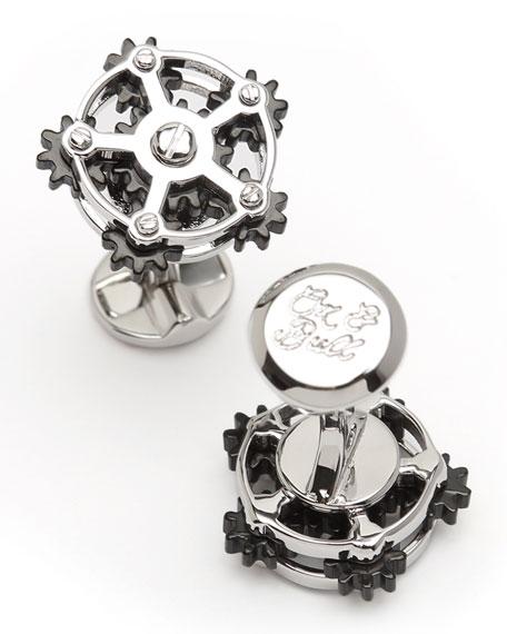 Cufflinks Inc. Rotating Gear Cufflinks