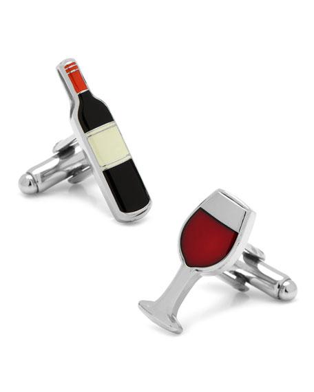 Cufflinks Inc. Wine & Bottle Cufflinks