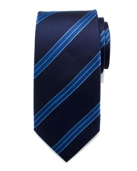 Cufflinks Inc. Star Trek Enterprise Flight Striped Tie