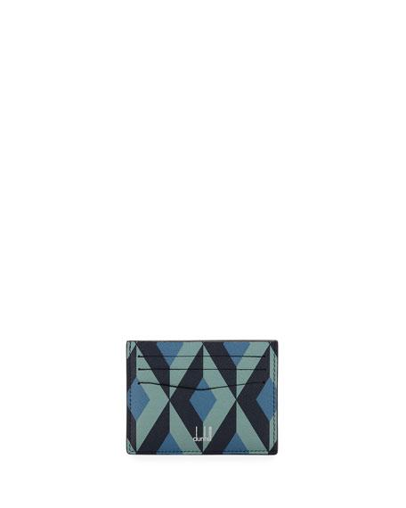 dunhill Men's Cadogan Slip Card Case, Blue