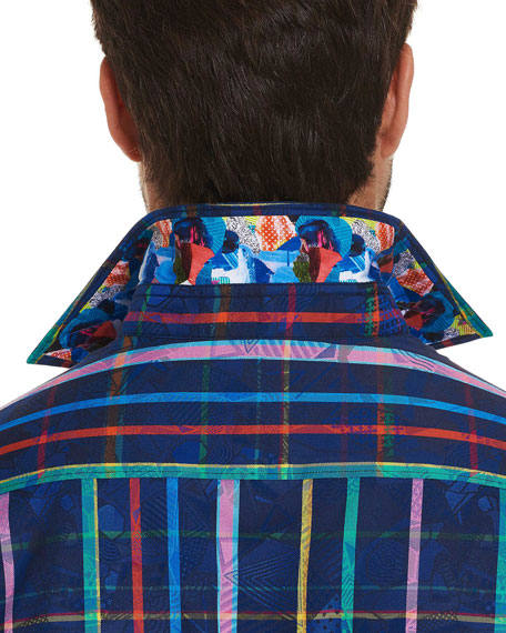 Robert Graham Men's Augustine Graphic Sport Shirt