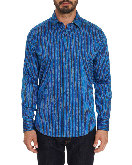 Robert Graham Men's Brinklow Graphic Sport Shirt