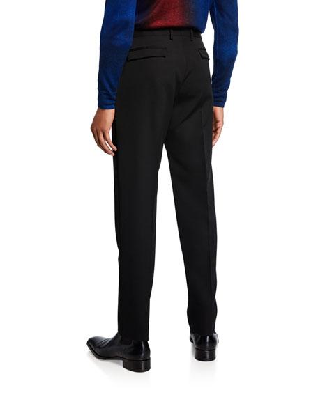 Berluti Men's Virgin Wool Tapered Pants