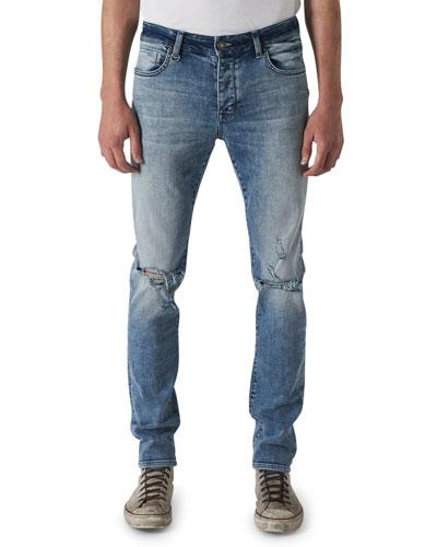 Men's Iggy Skinny Light-Wash Jeans  Chapman