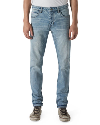 Men's Iggy Skinny Light-Wash Jeans  Zero Selvedge