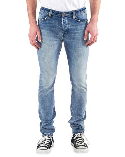 Men's Iggy Skinny Light-Wash Jeans  Atomic Air