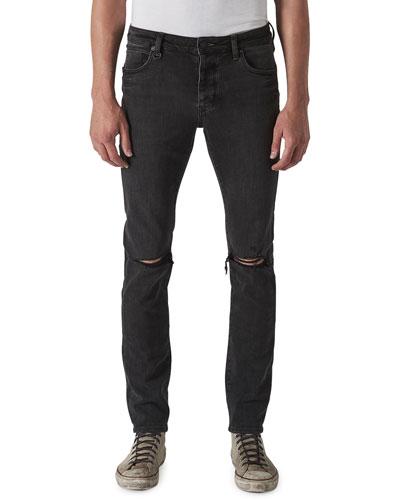 Men's Iggy Skinny Dark-Wash Jeans  Reid