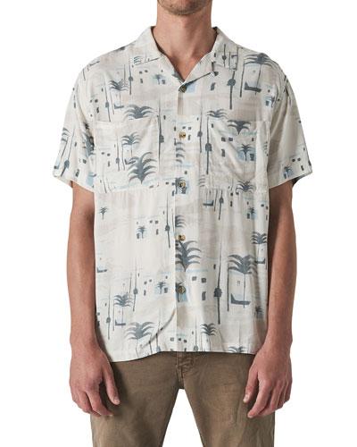Men's Marrakech Pocket Short-Sleeve Sport Shirt