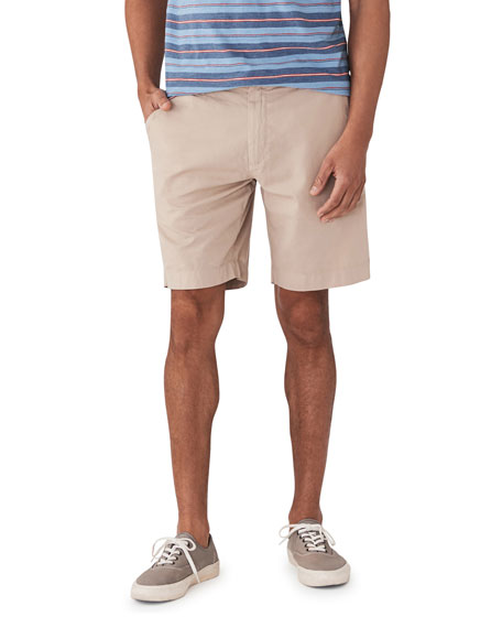 Faherty Men's Harbor Stretch-Twill Shorts