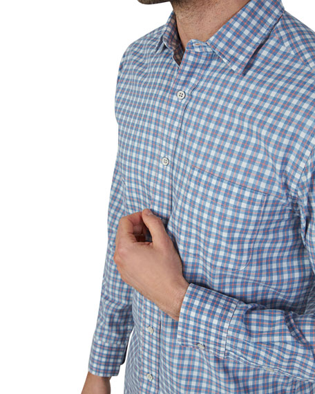 Faherty Men's Ventura Plaid Button-Down Shirt