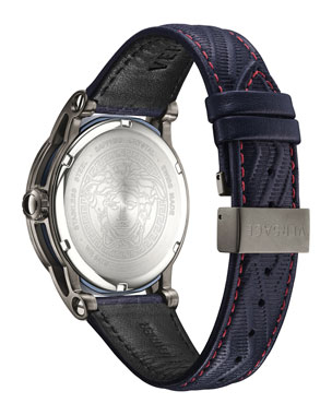 cd30b6b2d75 Men's Designer Watches: Leather & Gold at Neiman Marcus
