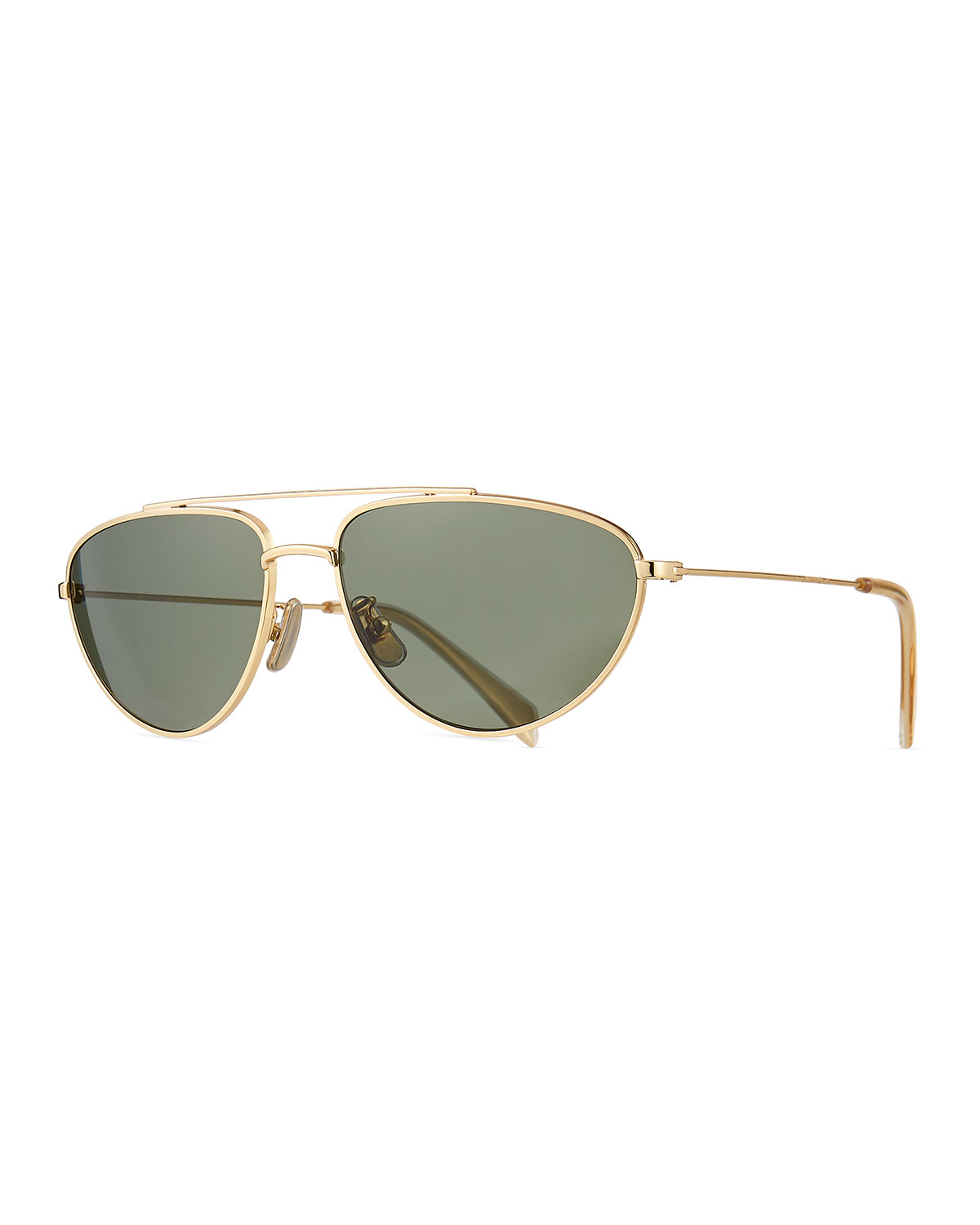 d93c4e7c8d Celine Men s Metal Pilot Sunglasses