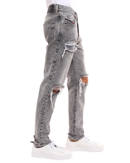 Diesel Men's Mharky Slim Fit Jeans