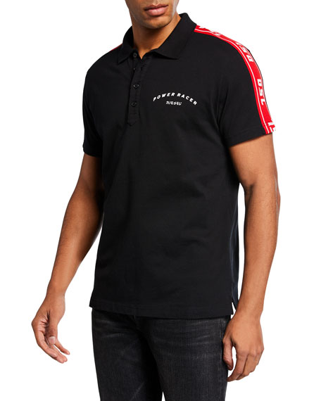 Diesel Men's Gorou Logo-Trim Polo Shirt