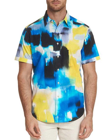 Robert Graham Men's Atlantis Short-Sleeve Sport Shirt