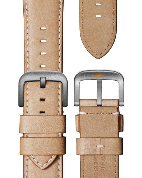 Shinola Men's 47mm Runwell Watch, Medium Beige