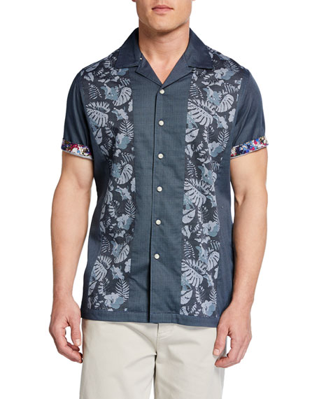 Robert Graham Men's Alcot Classic-Fit Graphic Short-Sleeve Sport Shirt