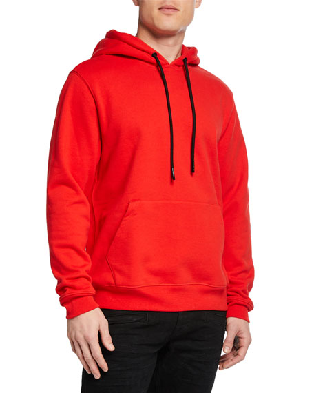7 For All Mankind Men's Cotton Pullover Hoodie