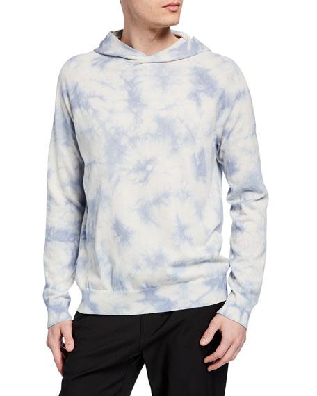 Vince Men's Tie-Dye Cotton Pullover Hoodie