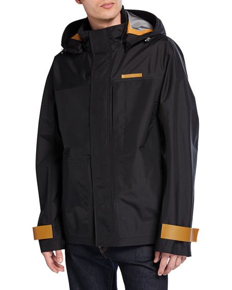 Helmut Lang Men's Tech Sport Nylon Zip-Front Jacket