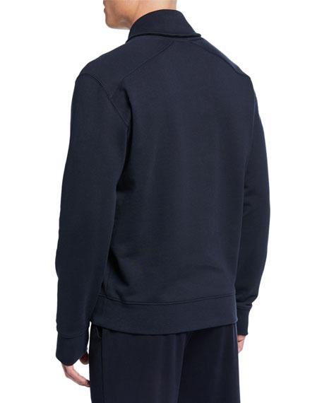 Vince Men's Shawl-Collar Long-Sleeve Henley Top