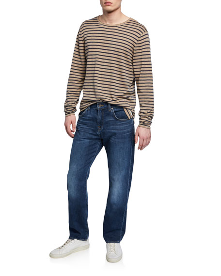 7 For All Mankind Men's The Straight Relaxed Jeans
