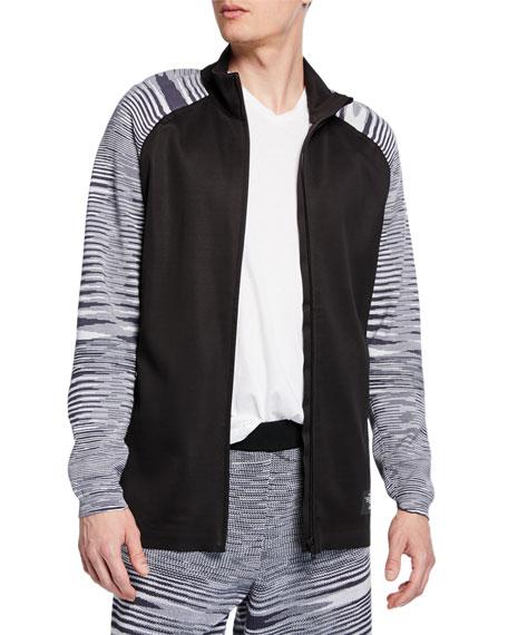 Adidas x missoni Men's x Missoni PHX Striped-Knit Zip-Front Jacket