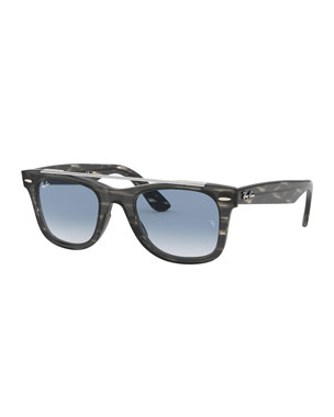 9a7f697abfa Ray-Ban Men s RB4540 Wayfarer Double-Bridge Sunglasses - Gradient