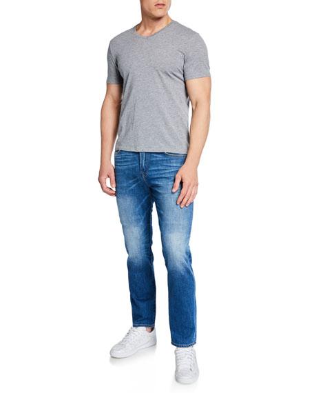 7 For All Mankind Men's Adrien Clean-Pocket Denim Jeans