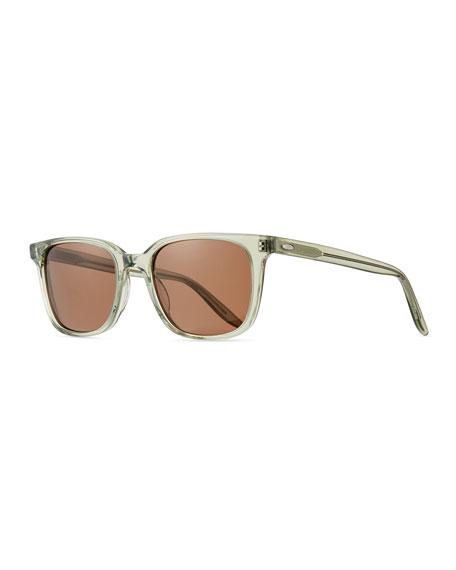 Barton Perreira Men's Joe Translucent Acetate Sunglasses