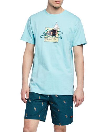 Men's Advertising Short-Sleeve Graphic T-Shirt