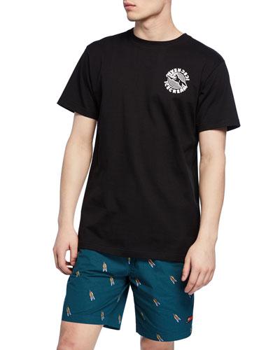 Men's Spiral Short-Sleeve Graphic T-Shirt