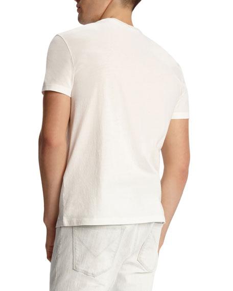 John Varvatos Star USA Men's Vacation Skull Graphic Short-Sleeve Cotton T-Shirt