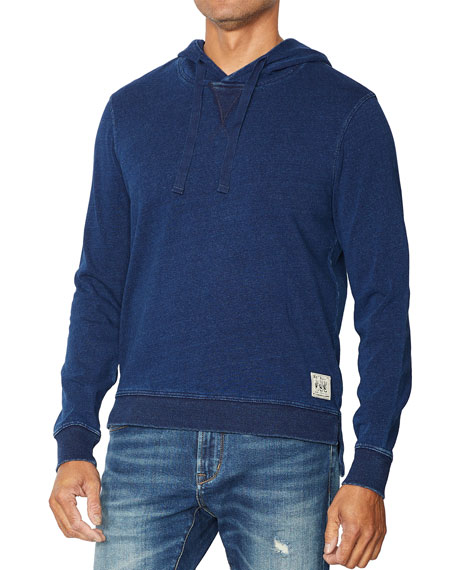 John Varvatos Star USA Men's Filmore Hooded Sweatshirt