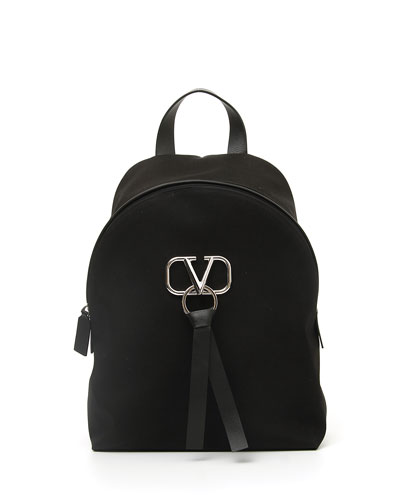Men's Go Logo Ribbon Backpack