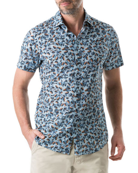 Rodd & Gunn Men's Cape Wanbrow Animal Shirt