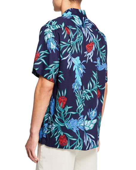 Reyn Spooner Men's Floral-Print Camp Shirt