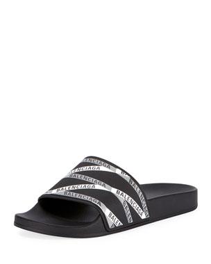 79b7a3d27ae9 Men s Designer Sandals   Flip Flops at Neiman Marcus