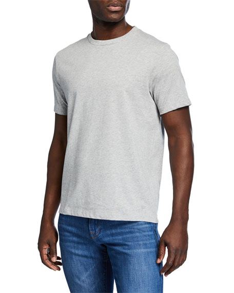 Frame Shorts Men's Heavyweight Crewneck Short-Sleeve Cotton Tee