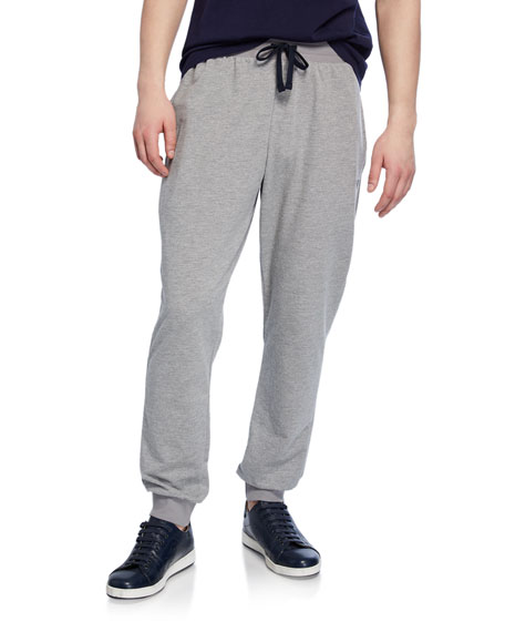 Emporio Armani Men's Classic Terry Drawstring Trousers