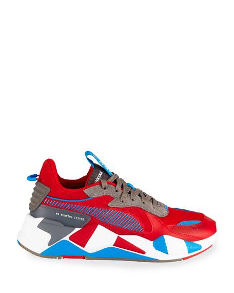 Puma Men's RS-X Retro Mixed-Media Sneakers